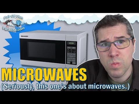 Microwaves - seriously, this one's about microwaves for some reason. (TABLEscraps #23)