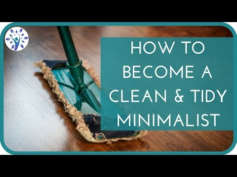 TOP 5 MINIMALIST CLEANING HABITS (That Can Make Anyone Tidy, Clean + Organized)