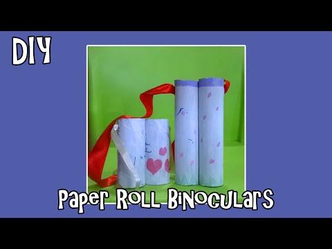 DIY Toilet Paper Roll Binoculars Tutorial