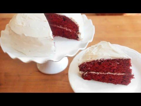 Red Velvet Cake & 3 ingredient Buttercream | SweetTreats