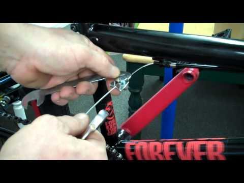 How To Install Cable 'n Casing BRAKE on BSD Sinner BMX Bike Frame