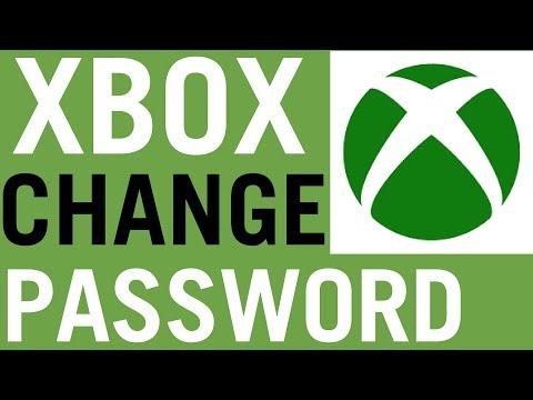 Xbox How To Change Password 2018