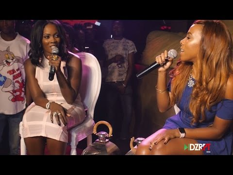 Tiwa Savage's R.E.D album Listening Party Cover