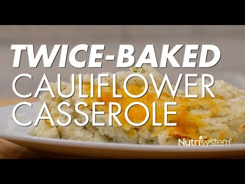 Twice-Baked Cauliflower Casserole Recipe