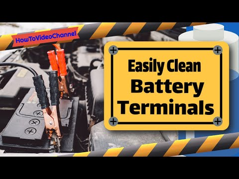 Easily Clean Battery Terminals | Remove Battery Corrosion Fast