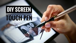 How to make a DIY Touch Pen in 2 Minutes - AWESOME