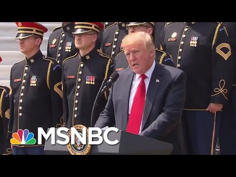 Former NFL Player, Green Beret: President Donald Trump Wrong To Criticize Players   Deadline   MSNBC