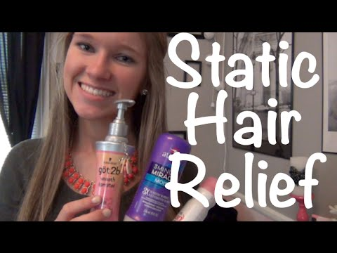 Minimize Hair Static During Fall/ Winter