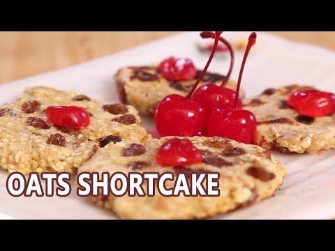 Oats Shortcake Recipe | Mallika Joseph Food Tube
