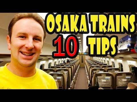 How to Ride Subway & Trains in Osaka Japan - 10 Tips!