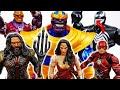 Thanos With Infinity Gauntlet Is Unstoppable Go Wonder Woman Aquaman Flash ToyMartTV