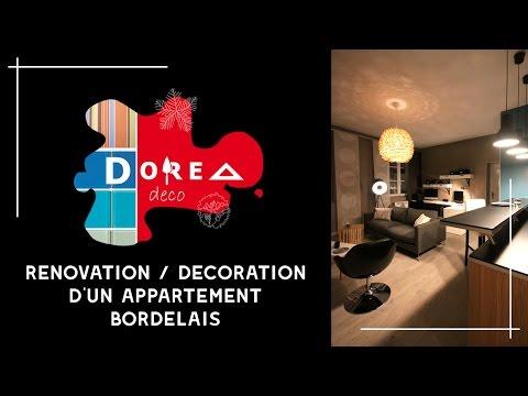 Rénovation et Décoration complète d'un appartement de 45m², en 3 semaines seulement par DOREA Déco!