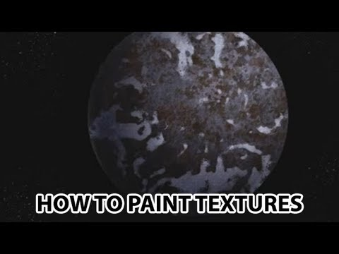 Corel Painter Tutorial - How To Create Natural Textures