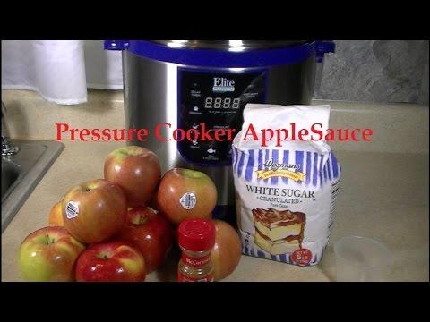 Homemade Applesauce in a Pressure Cooker