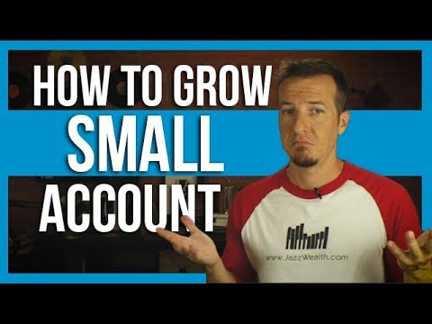 How to grow small retirement accounts.