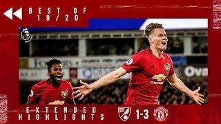 Best of 19/20 | Norwich 1-3 United | McTominay, Rashford and Martial on target at Carrow Road!
