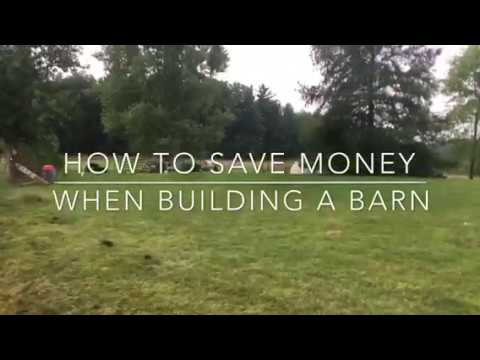 How to save money when building and excavating. Be your own general contractor.