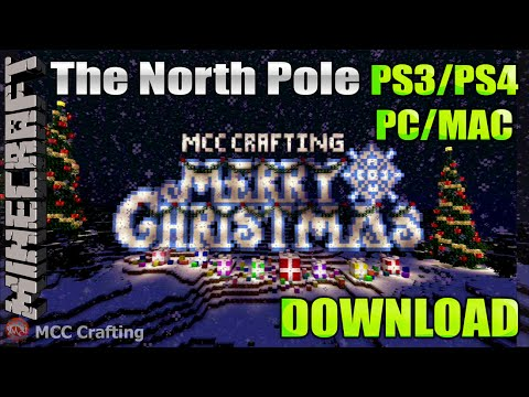 Minecraft The North Pole A Winter Wonderland Christmas World Download PS3/PS4/XBOX/PC