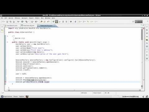 Hibernate Tutorial 06 - Retrieving Objects using session.get