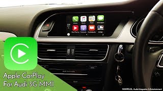 AUDI 8V A3 - MMi Integrated Apple CarPlay demonstration video