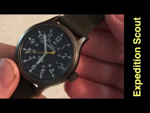 Timex Expedition Scout - Watch - Review (Affordable Perfection) $40