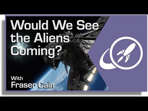 Would We See the Aliens Coming? Detecting an Extraterrestrial Invasion