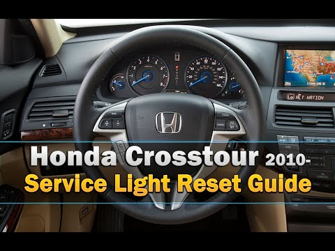 Honda Crosstour Service Light / Oil Life reset