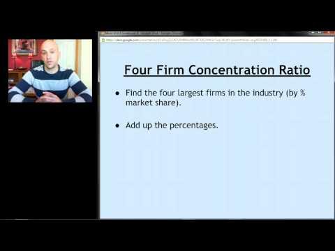 AP Micro: Unit 6 Screencast 4 - Introduction to Oligopoly