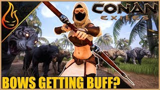 Thrall Crafting (with arrow) - Conan Exiles