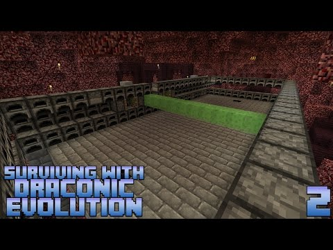 Surviving With Draconic Evolution :: E02 - Wither Skeleton Farm