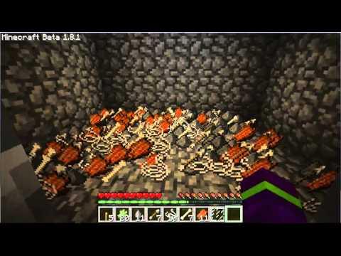 Minecraft Skyblock Mob Trap