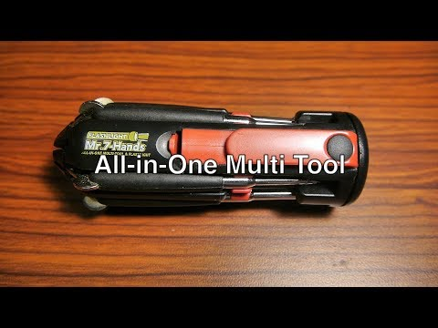 Best Multi Tool All-In-One Flathead / Phillips Screwdriver w/ Flashlight For the Money | Mr. 7 Hands