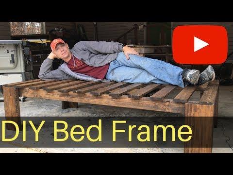 Farmhouse Bed Frame ( DIY)