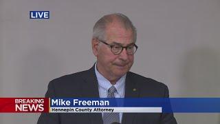 Hennepin County Attorney: Ex-Cop Derek Chauvin Charged With Murder, Manslaughter