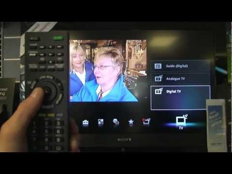 how to re tune a 2011 sony tv