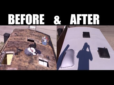How to replace your RV or Motorhome roof EPDM or TPO