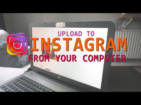 How to Post to INSTAGRAM from your COMPUTER! 2018! 1 EASY HACK / Tip Everyone MUST Watch / TRY!!