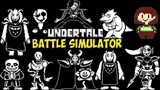 Undertale - Battle Simulator | Симулятор персонажей