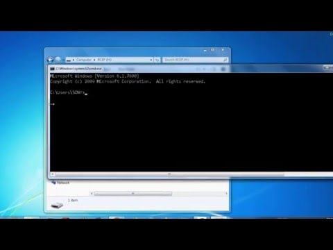 How to remove Shortcut virus using command CMD