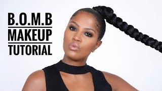 B.O.M.B   Black Owned Makeup Brands Tutorial   MakeupShayla