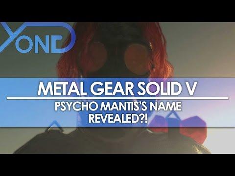 Metal Gear Solid V - Psycho Mantis's Name Revealed?!