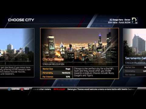 Madden NFL 25 My Franchise Episode #1: Relocation