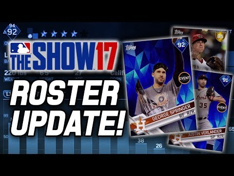 FINAL ROSTER UPDATE OF THE SEASON! SPRINGER UPGRADED & LAMB TO GOLD! | MLB The Show 17 Roster Update