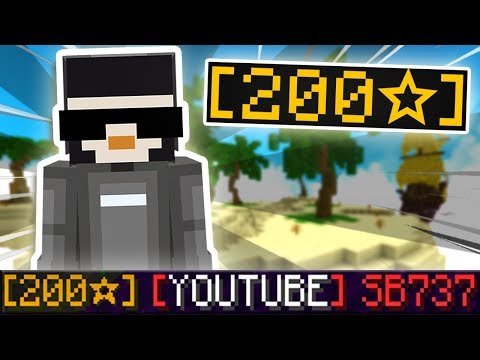 GETTING [200★] IN BED WARS! (Minecraft)