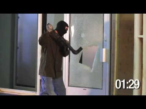 3M Safety & Security Film S140 Demonstration