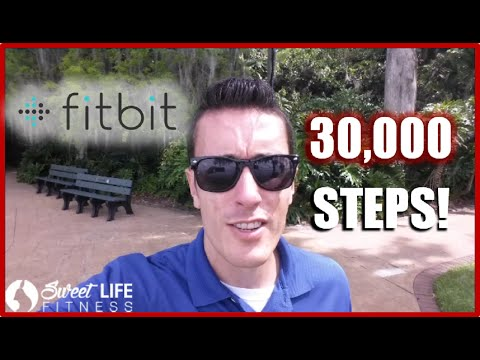 Fitbit 30,000 Step Challenge - With an INSANE New Goal...