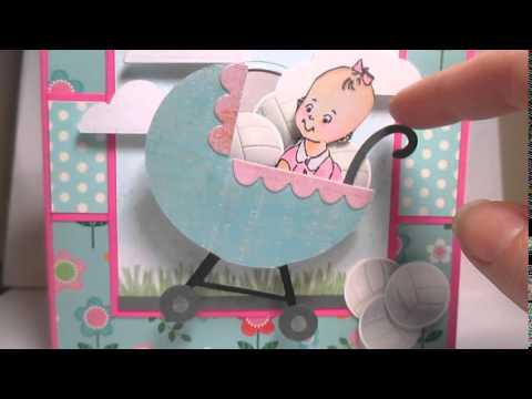 Bouncing Baby Buggy Handmade card