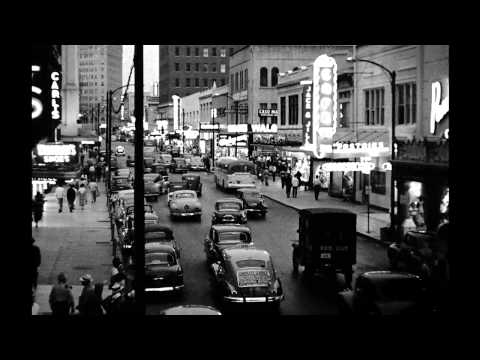 35mm footage of Ocean Park and Hollywood Boulevard (1920s-1950s)