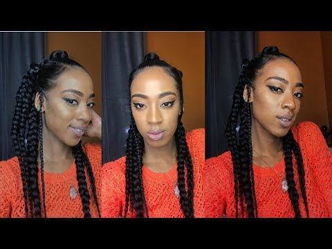 DIY: SIMPLE AND EASY  PROTECTIVE HAIRSTYLE