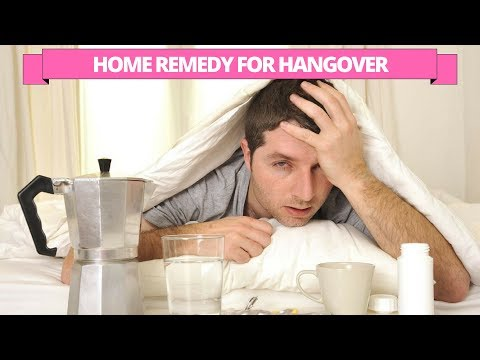 Home remedy to treat the hangover